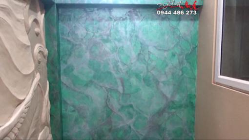 thi công sơn giả đá cẩm thạch